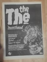 The The Heartland  1986 press advert Full page 28 x 39 cm mini poster A