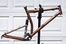 2001 Maverick ML7 Alloy Dual Fox Suspension Mountain Bike Frame w/ XTR Front Der