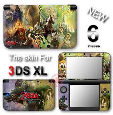 The Legend of Zelda Twilight Princess Skin Sticker Cover for Nintendo 3DS XL