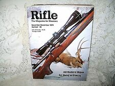 RIFLE 11/12 1974~STEYR M72 TURNBOLT~BROWNING 2000~458 WIN MAG~WINCHESTER 1876