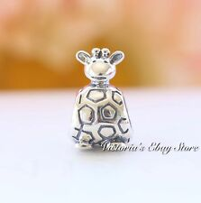 Authentic Pandora Sterling Silver Giraffe Bead 790274