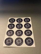 "1/24 Scale Slot Car 5/8"" Front Wheel Sticker Custom Made Pre Cut Firestone"
