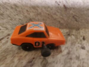 Vintage General Lee Car Dukes Of Hazzard Toy Wrist Racer Wind Up 1979 e