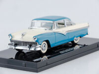 Scale model car 1:43 1956 Ford Fairlane Hard Top (Bermuda Blue/Colonial White)