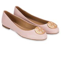 TORY BURCH Benton 2 Ballet Flat Nappa Leather Sea Shell Pink $248.00 50% OFF