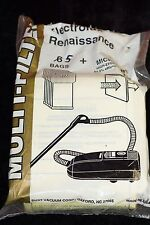 TPG - Electrolux Renaissance Vacuum Style R Bags & Micro Air Filter (1 Set of 5)
