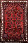 Geometric Lilihan Oriental Area Rug Wool Hand-Knotted Tribal Foyer Carpet 3x5