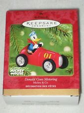 Donald Goes Motoring Mickey & Co Walt Disney Hallmark Keepsake Ornament 2001