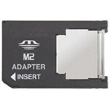M2 Micro Memory Stick A Ms Pro Duo Tarjeta Adaptador Convertidor Para Cámaras teléfonos