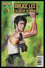 Bruce Lee Walk of the Dragon Comic Bruce Lee vs Chuck Norris John Haun cover art
