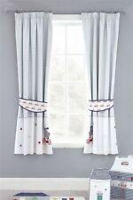 Next Cotton Toodle Pip Blackout Pencil Pleat Curtains 117(W)x137(L)cm RRP £50