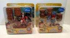 Jake & The Neverland Pirates - Jake's Sailwagon & Hook's Sailwagon Racers - NEW!