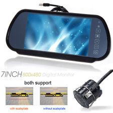 """7"""" Car LCD TV Screen& CCD Front Back Parking Sensor Rear View Monitor/Camera kit"""
