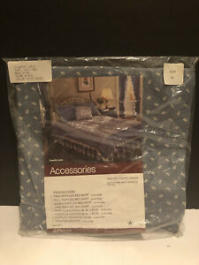 2~JC Penney Vintage Country Lace Ruffle Standard Size Pillow Case Sham NWT