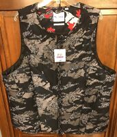 Puma X Trapstar Rev Bib Black Camo Vest Men's XXL 2XL $150 NWT New 571817-07