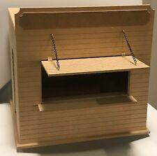 1:12 Scale Flat Pack Wooden (MDF) Burger Food Bar Kit Dolls House Miniature Shop