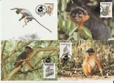 WWF 4 x Card - Guine-Bissau 1992 - Aap / Monkey (150)