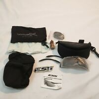 Wiley-x  Ballistic Sunglasses lenses With Cases, MILITARY accessories Lot ICE