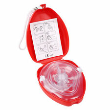 Adult &Kid CPR Pocket Resuscitator Rescue Mask Face-Mask for Fist Aid Protable .