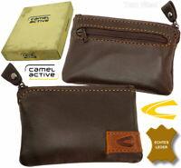 CAMEL ACTIVE Schlüsseletui Schlüssel Tasche Leder Mappe Braun key case brown