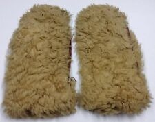Antique Fur Mittens As Is Fur & Leather Gloves Hand Warmers