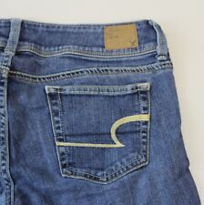 American Eagle Slim Boot Womens Stretch Jeans sz 4  Inseam 30  RN54485