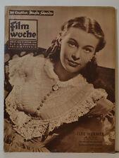 FILMWOCHE  MAGDA SCHNEIDER  ILSE WERNER DIE SCHWEDISCHE NACHTIGALL 40/51 (BF293)