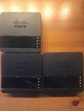 3 x Cisco ATA190 VoIP und Netzteil