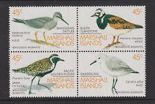 Marshall Islands - 1989, Birds set - Block of 4 - MNH - SG 226/9