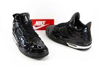 Men's Nike Air Jordan 4 11 Lab 4 Retro OG Black Patent Leather Size US 11 VGC