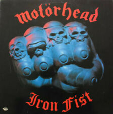 ID34z - Motorhead - Iron Fist - BRNA 539 - vinyl LP - uk