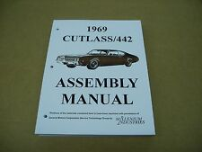 1969 69 Oldsmobile Olds Cutlass 442 car assembly instruction manual