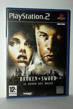 BROKEN SWORD IL SONNO DEL DRAGO USATO OTTIMO SONY PS2 ED ITALIANA FR1 42446