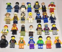 LEGO LOT 10 RANDOM MYSTERY BAG CITY TOWN SET MINIFIGURE MINIFIGS PEOPLE