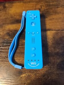 Nintendo Baby Blue Motion Controller Wii Motion Plus Remote Control (or Wii U)