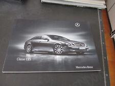 MERCEDES BENZ CLASSE CLS prospetto brochure 77 pagine ITALIANO