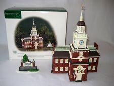 Department 56 - 1998 Independence Hall - Set of 2 - Heritage Village - # 55500
