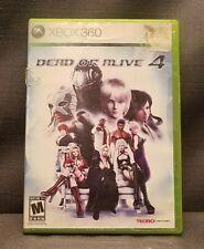 Dead or Alive 4 (Microsoft Xbox 360, 2005) Video Game