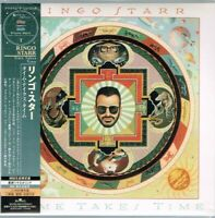 """Ringo Starr """"Time Takes Time"""" Japan LTD Mini LP CD w/OBI Like New Sample/Promo"""
