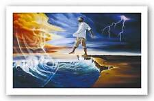 AFRICAN AMERICAN ART PRINT Step Out On Faith II Kevin Williams WAK 12x20