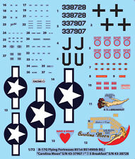 1/72 B-17G Flying Fortresses 851st BS1490th BG / MONOKIO  Decals