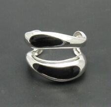 Sterling Silver Ring Enamel 925 New Size 6-8