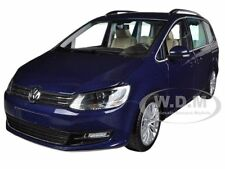 2010 VOLKSWAGEN SHARAN BLUE 1/18 DIECAST MODEL CAR BY MINICHAMPS 110051000