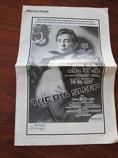 BIG SLEEP Pressbook Robert Mitchum film noir Joan Collins Sarah Miles