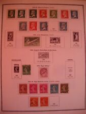 FRANCE: COLLECTION TIMBRES NEUFS/OBLITERES 1860-1966