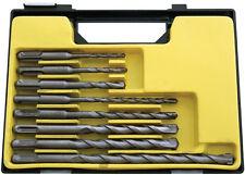 8pc SDS Drill Bit Set 5, 6, 8 x 110mm & 6, 8, 10, 12 x 160mm & 8 x 210mm Case