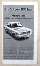 D471-Advertising Pubblicità-1975 - MAZDA 818 BERLINA