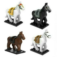 War Horse Mini Figure War Horse Castle Knights Horse Minifigure Non Lego