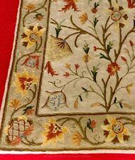 Tree Of Life, Wool Crewel Chain Stitch Tapestry, Kashmir India,, 5'l X 3'w, 2005