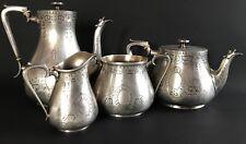 Silber 84 Kaffe Set Chlebnikow 2480Gr.-Silver 84 Coffe Set Khlebnikov 2480Gr.